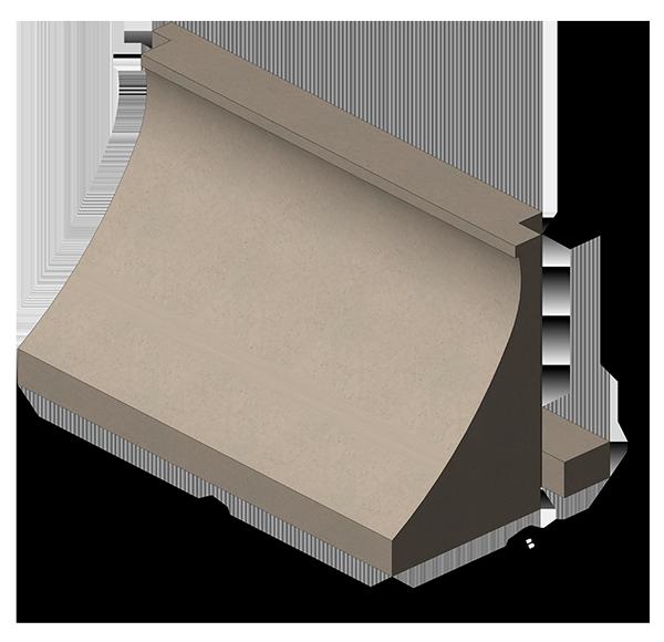Вестт - ЖБИ - волнозащитный блок