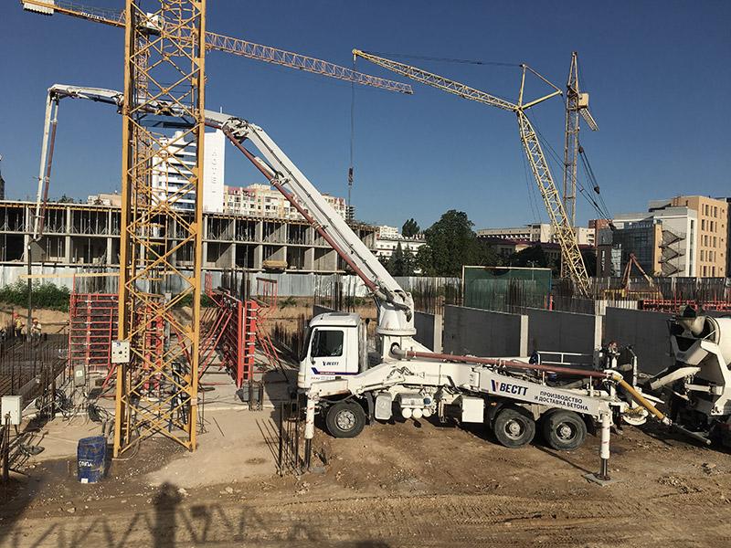 Вестт - строительные работы