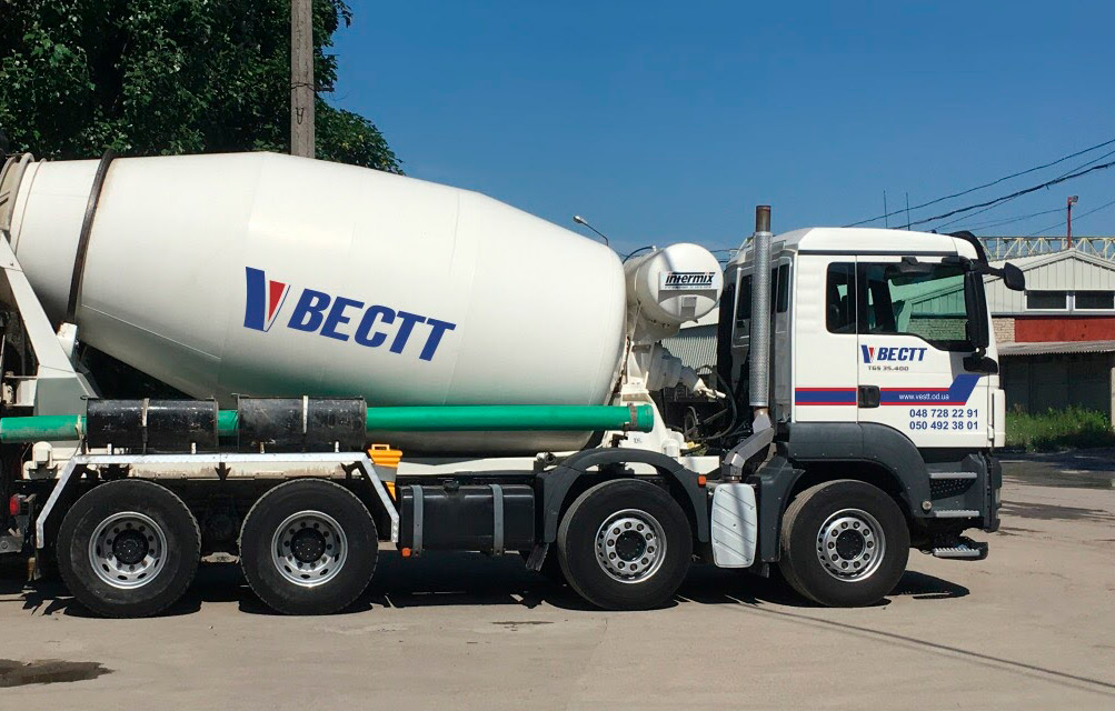Вестт - доставка бетона