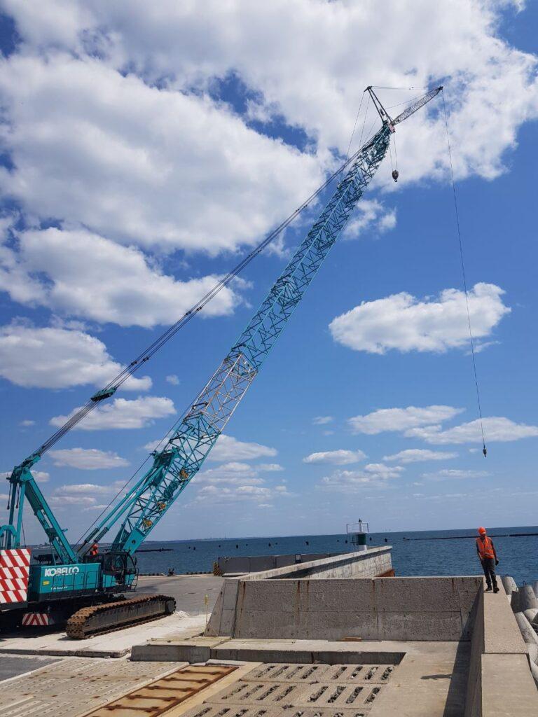 роботи по монтажу і демонтажу берегозахисних споруд - ВЕТТ